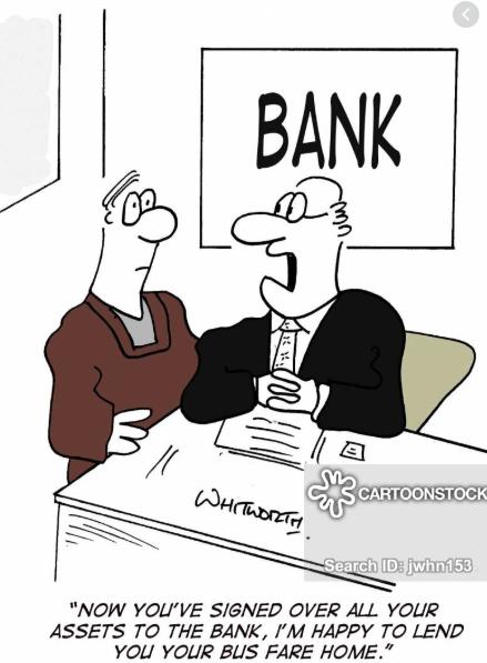 bank loan greed